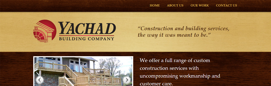 Yachad Building Co. website